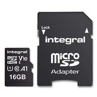 Integral Secure Digital kaart 16Gb Micro SDHC V10