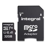 Integral Secure Digital kaart 32Gb Micro SDHC V10