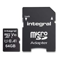 Integral Secure Digital kaart 64Gb Micro SDXC V10