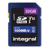 Integral Secure Digital kaart 32GB SDHC V10