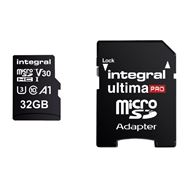 Integral Secure Digital kaart 32GB Micro SDHC V30