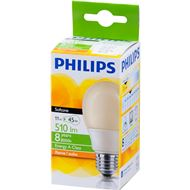 Philips Spaarlamp E27 11W Kogel Flame Softone