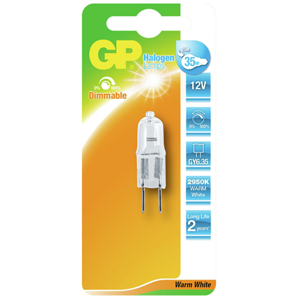 GP Halogeen Capsule 25W-GY6.35