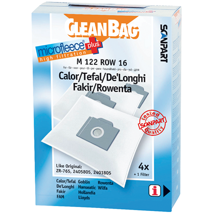 CleanBag Microfleece+ M122ROW16