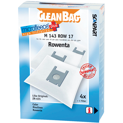 CleanBag Microfleece+ M143ROW17