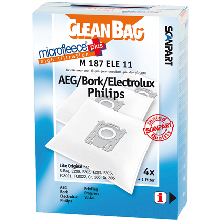 CleanBag Microfleece+ M187ELE11