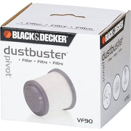 Black en Decker kruimeldief filter VF90-XJ