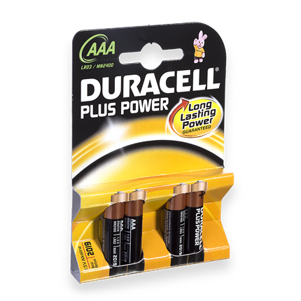 Duracell AAA Plus Power