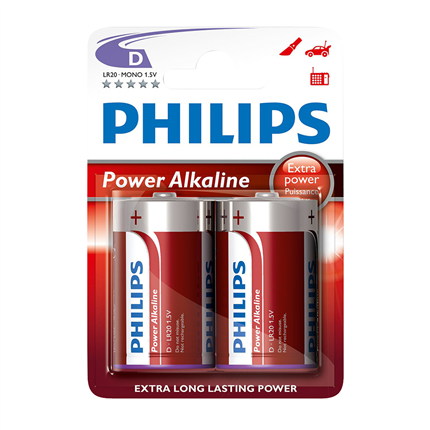 Philips  Power Alkaline D