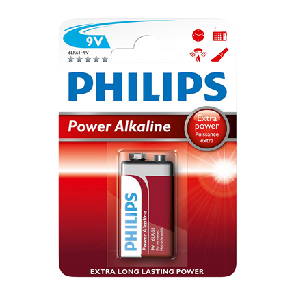 Philips 9V Power Alkaline
