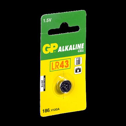 GP LR43 Knoopcel Alkaline Batterij