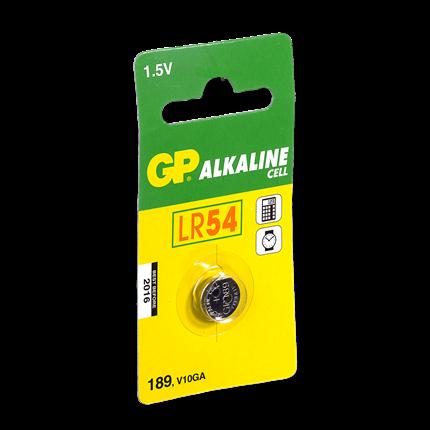 GP LR54 Knoopcel Alkaline Batterij