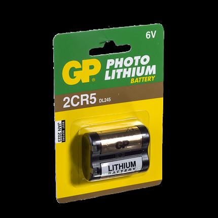 GP 2CR5 Foto Lithium Batterij
