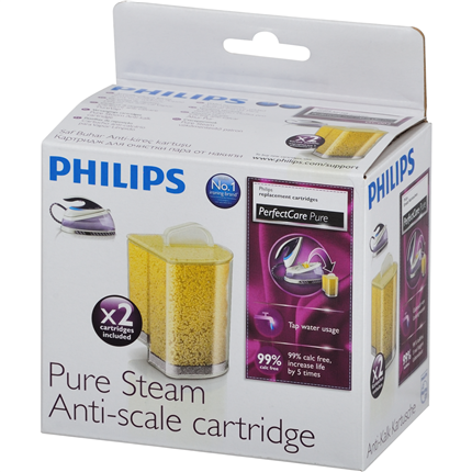 Philips Pure Steam Antikalkpatroon GC002 2-pack