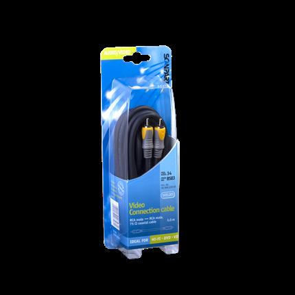 Scanpart Aansluitkabel Tulp(M)-(M) Digitaal Coax 5m