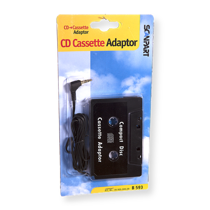 Scanpart CD-Cassette Adapter