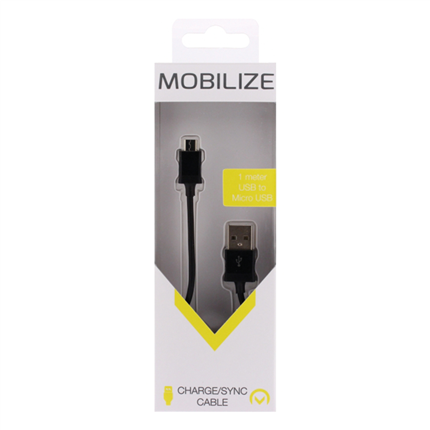 Mobilize Laad + Datakabel Micro Usb 1m
