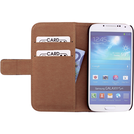 Mobilize Samsung Galaxy S4 Wallet Slide Case Leder