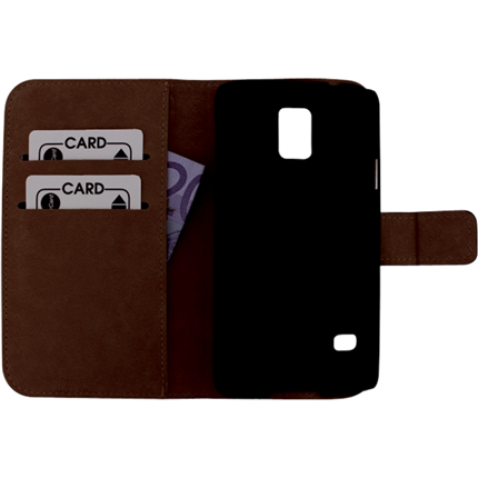 Mobilize Samsung Galaxy S5 Wallet Case Leder