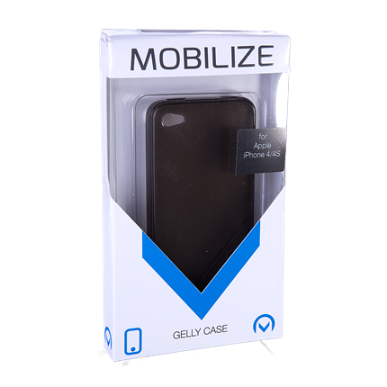 Mobilize Apple Backcover TPU iPhone 4/4S