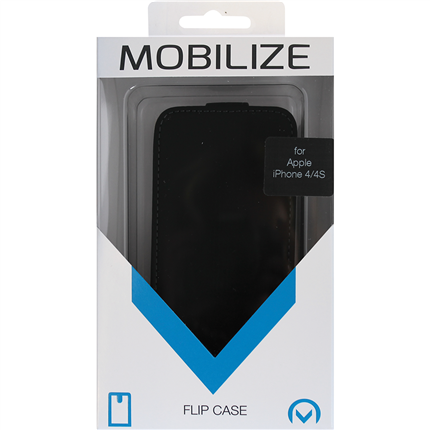 Mobilize Apple Iphone 4S Flipcase Ultra Slim Leder