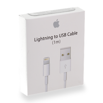 Apple Laad+datakabel lightning dock connector 1,0 m