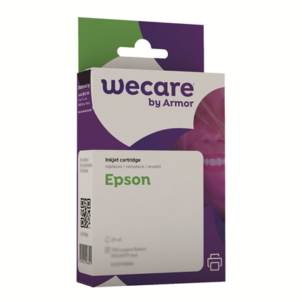 weCare Cartridge Epson T048340 Rood