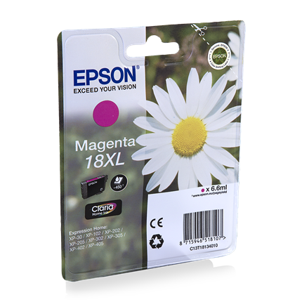 Epson Cartridge 18 XL (T1813) Magenta