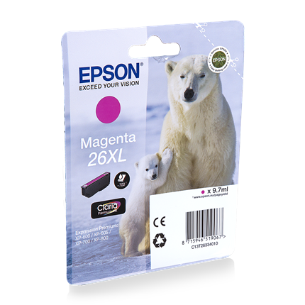 Epson Cartridge 26 XL (T2633) Magenta