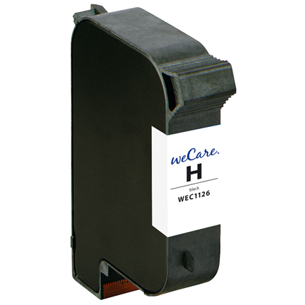 weCare Cartridge HP 15 Zwart