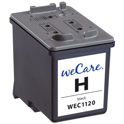 weCare Cartridge HP 56 Zwart