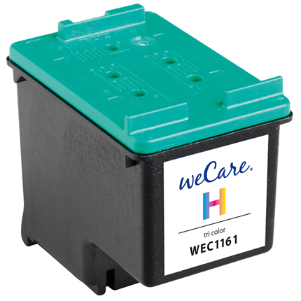 weCare Cartridge compatible met HP 343 Tricolor