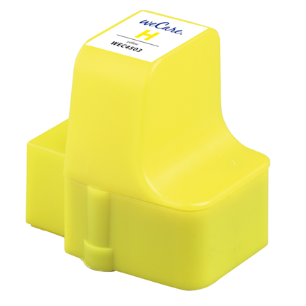 weCare Cartridge HP 363 Geel