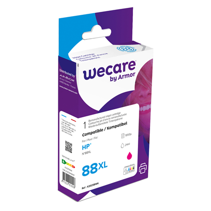 weCare Cartridge HP 88 Rood