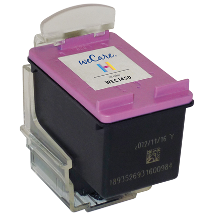 weCare Cartridge HP 301XL Tricolor