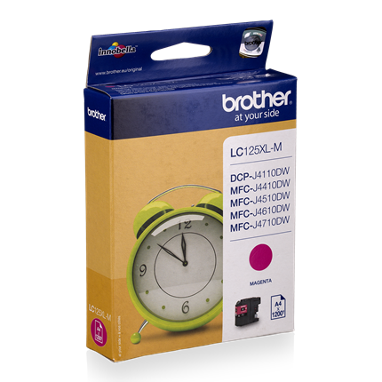 Brother LC125 XL Magenta