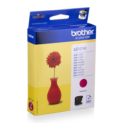 Brother LC 121 Magenta