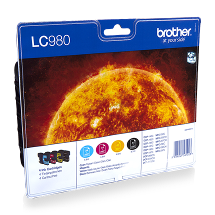 Brother LC 980 Multipack