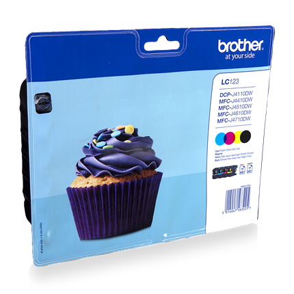 Brother LC 123 Multipack