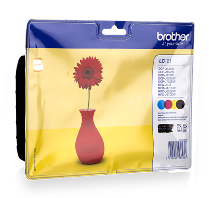 Brother LC121 Multipack