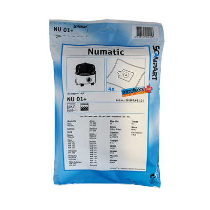 Scanpart Numatic NU01+