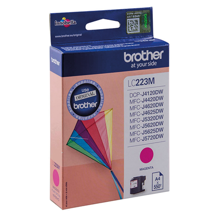 Brother LC-223M Rood