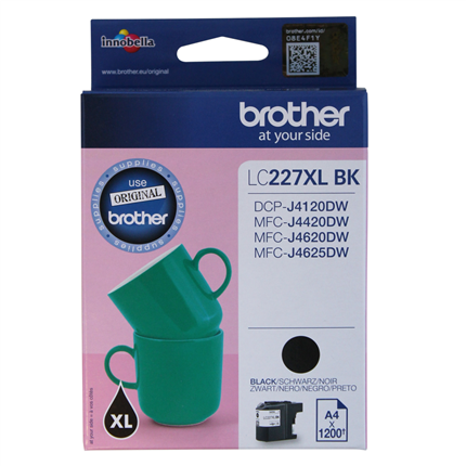 Brother LC-227XLBK Zwart