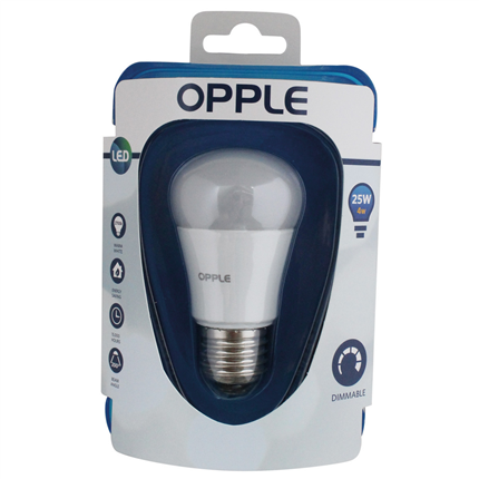 Opple LED lamp E27 3W dimbaar