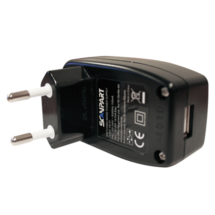 Scanpart USB 220V Adapter 5V-1A