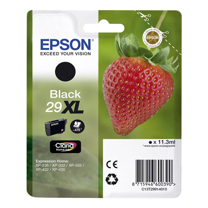 Epson Cartridge 29 XL (T2991) Zwart