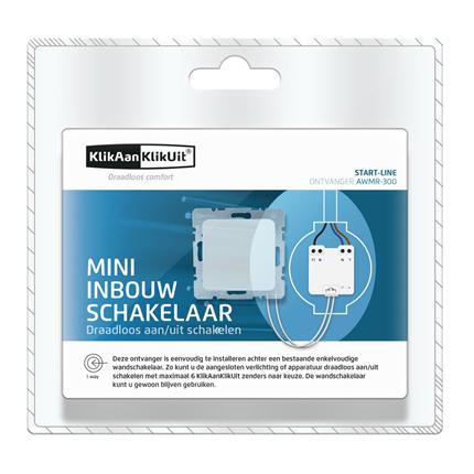 Favoriete KlikAanKlikUit Mini Inbouw Schakelaar AWMR-300   Bestel bij Handyman ZC31