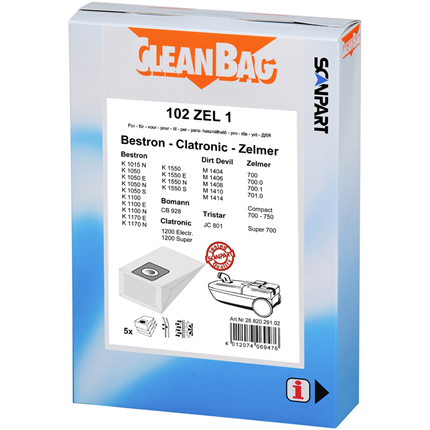 CleanBag 102 ZEL 1