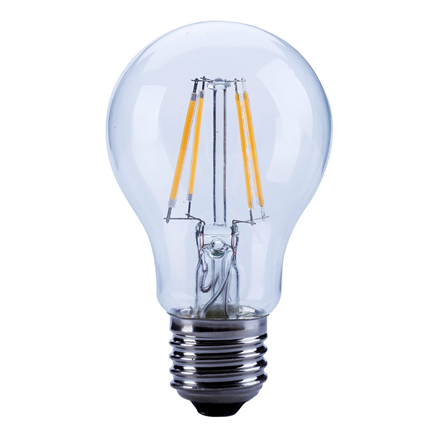 LED lamp E27 4W 470Lm classic helder filament