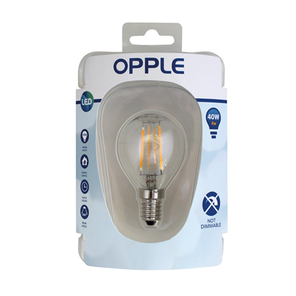 Opple Ledlamp Classic P Filament E14 4W